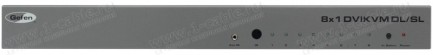 Фото1 EXT-DVIKVM-841DL - Коммутатор 8x1 сигналов DVI Dual Link (1920х120 и 3840x2400) + USB 2.0 + Аудио