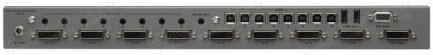 Фото2 EXT-DVIKVM-841DL - Коммутатор 8x1 сигналов DVI Dual Link (1920х120 и 3840x2400) + USB 2.0 + Аудио
