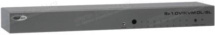 Фото3 EXT-DVIKVM-841DL - Коммутатор 8x1 сигналов DVI Dual Link (1920х120 и 3840x2400) + USB 2.0 + Аудио