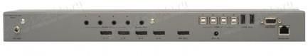 Фото3 EXT-DPKVM-441 - Коммутатор 4x1 сигналов DisplayPort + USB 2.0 + Аудио, управление RS232, ИК пульт