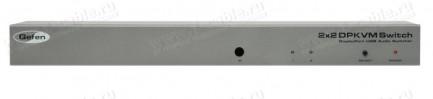 Фото1 EXT-DPKVM-422 - Коммутатор 2x2 сигналов DisplayPort Dual/Single Link + USB 2.0 + Аудио, управление R