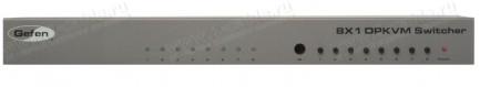 Фото2 EXT-DPKVM-841 - Коммутатор 8x1 сигналов DisplayPort + USB 2.0 + Аудио, управление RS232, ИК пульт