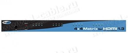 Фото1 EXT-HDMI1.3-444 - Матричный видео коммутатор сигналов HDMI (версия 1.3) 4х4 с ИК пультом управления