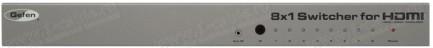 Фото1 EXT-HDMI1.3-841 - Видео коммутатор сигналов HDMI (версия 1.3) 8х1 с ИК пультом управления