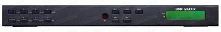 Фото2 HIT-HDMI-X444PRO - Матричный видео коммутатор сигналов HDMI 4х4, серия RACK с управления ИК и RS232