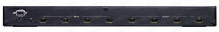 Фото3 HIT-HDMI-X444PRO - Матричный видео коммутатор сигналов HDMI 4х4, серия RACK с управления ИК и RS232