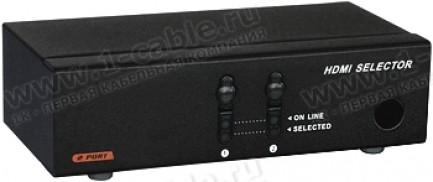 Фото1 HIT-HDMI-241PRO - Видео коммутатор сигналов HDMI (версия 1.3) 2х1 с ИК пультом управления