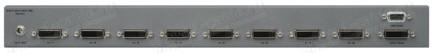 Фото2 EXT-DVI-841DL - Видео коммутатор сигналов DVI (Single Link/Dual Link) 8х1 с ИК пультом управления, п