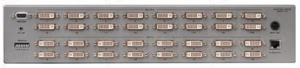 Фото2 EXT-DVI-16416 - Матричный видео коммутатор DVI 16х16 с ИК пультом, управлением по RS-232 и Ethernet