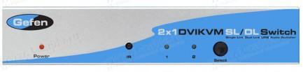 Фото1 EXT-DVIKVM-241DL - Коммутатор 2x1 сигналов HDTV (DVI-D Dual Link) + USB 2.0 + Аудио