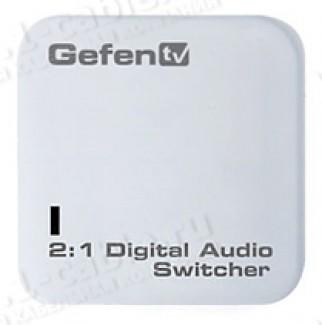 Фото1 GTV-DIGAUD-241 - Аудио коммутатор 2x1 цифровых аудио сигналов TOSlink