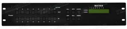 Фото2 HIT-COMPOSITE-888 - Матричный коммутатор 8х8 композитных видеосигналов и стерео аудиосигналов