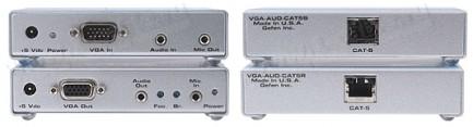 Фото2 EXT-VGA-AUDIO-141 - Удлинитель линий VGA и аудио сигнала по витой паре (5 Cat) на 45 м