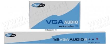 Фото1 EXT-VGAAUD-CAT5-142 - Комплект устройств для передачи и распределения сигналов VGA и стерео звука 1: