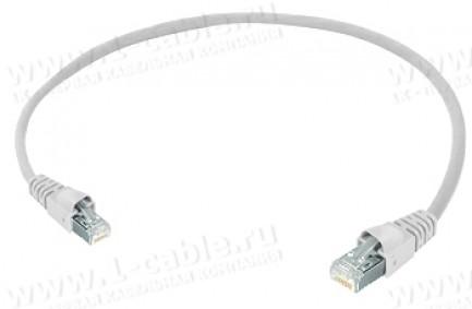 Фото1 1K-ETHC5SF-01.. Кабель коммутационный патч, Ethernet, категория 5e S/FTP, RJ45 штекер > RJ45 штекер,