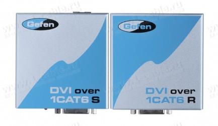 Фото1 EXT-DVI-1CAT6 - Удлинитель линий DVI по одному кабелю витая пара (6A Cat) на 60 м