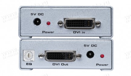 Фото2 EXT-DVI-1CAT6 - Удлинитель линий DVI по одному кабелю витая пара (6A Cat) на 60 м