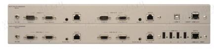 Фото2 EXT-CAT5-5600A - Удлинитель KVM 2 линий VGA и USB по витой паре (5 Cat) на 100 м