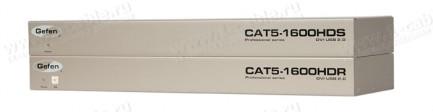 Фото1 EXT-CAT5-1600HD - Удлинитель линий DVI и USB 2.0 по одному кабелю витой пары (5/6 Cat) на 60 м