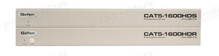 Фото3 EXT-CAT5-1600HD - Удлинитель линий DVI и USB 2.0 по одному кабелю витой пары (5/6 Cat) на 60 м