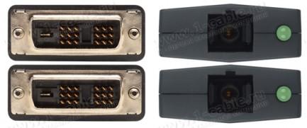 Фото2 EXT-DVI-CP-FM10 - Модульный удлинитель линий DVI по оптоволокну на расстояния до 300 м с поддержкой