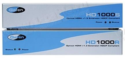 Фото1 EXT-HD-1000 - Удлинитель линий HDMI (поддержка разрешений до 1920 x 1200) по оптоволокну и витой пар