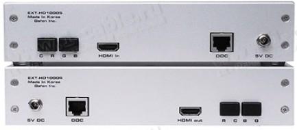 Фото2 EXT-HD-1000 - Удлинитель линий HDMI (поддержка разрешений до 1920 x 1200) по оптоволокну и витой пар