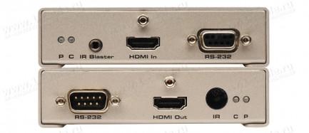 Фото3 EXT-HDMI1.3-1FO - Удлинитель линий HDMI v1.3, сигналов управления RS-232 и ИК по оптоволокну на 330