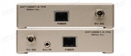 Фото4 EXT-HDMI1.3-1FO - Удлинитель линий HDMI v1.3, сигналов управления RS-232 и ИК по оптоволокну на 330