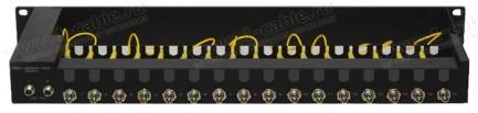 Фото2 GEF-3GSDI-16X - Рэковый корпус с 16х волоконно-оптическими удлинителями 3GSDI