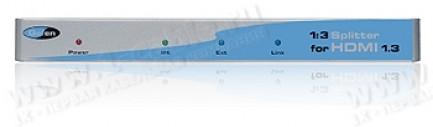 Фото1 EXT-HDMI1.3-143 - Распределитель сигналов HDMI 1:3, 1 вход > 3 выхода