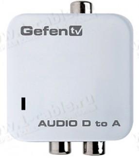 Фото1 GTV-DIGAUD-2-AAUD - Преобразователь цифровых сигналов S/PDIF и TOSLink в аналоговые стерео (без подд