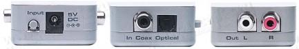 Фото2 GTV-DD-2-AA - Преобразователь многоканальных цифровых сигналов (включая Dolby до 5.1) S/PDIF и TOSLi