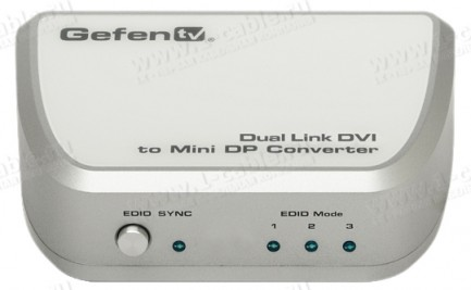 Фото2 GTV-DVIDL-2-MDP - Конвертер сигналов Dual Link DVI в Mini DisplayPort с аудиоподдержкой