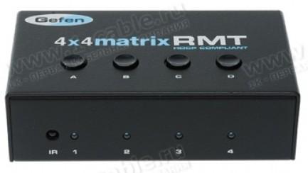 Фото1 EXT-RMT-MATRIX-444 - Блок управления 4-х кнопочный для контроля матричных коммутаторов сигналов 4х4