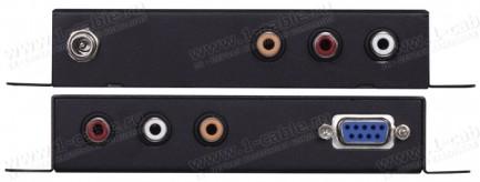 Фото2 HIT-AD2DA-DEL - Универсальный преобразователь аудио цифровых (S/PDIF) и аналоговых (RCA) сигналов с