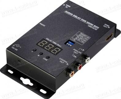 Фото1 HIT-HDMI-D2DA-DEL - Преобразователь аудио цифровых (HDMI) сигналов в аналоговые (RCA) и цифровые (S/