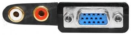Фото3 HIT-HDMI-2-VGAAUD - Конвертер цифровых сигналов HDMI в аналоговые сигналы VGA и стерео аудио