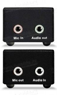 Фото2 HIT-AUD-1000 - Удлинитель звуковых аналоговых линий по витой паре (5e Cat) на 300 м