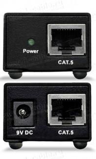 Фото3 HIT-AUD-1000 - Удлинитель звуковых аналоговых линий по витой паре (5e Cat) на 300 м