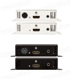Фото3 GTB-HDBT-POL-BLK - Удлинитель линий HDMI по одному кабелю витая пара (5e/6 Кат) на длины до 70 м, с