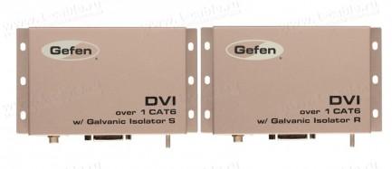 Фото2 EXT-DVI-1CAT6-GI - Удлинитель линий DVI с гальванической развязкой для передачи сигналов DVI-D Singl