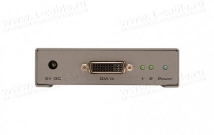Фото3 EXT-DVI-142DLN - Распределитель сигналов Dual Link DVI 1:2 с опцией каскадного подключения, 1 вход D