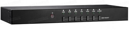 Фото1 HIT-COMVGASVAUD-2-HDMI - Преобразователь аналоговых VGA/композитных/с-видео/компонентных сигналов и