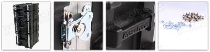 Фото2 BC-.UBL Профессиональный кофр из ударопрочного пластика для рэкового оборудования (крепеж в комплект