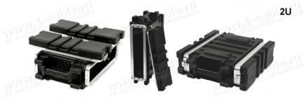 Фото3 BC-.UBL Профессиональный кофр из ударопрочного пластика для рэкового оборудования (крепеж в комплект