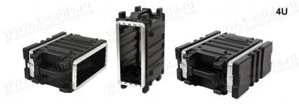Фото4 BC-.UBL Профессиональный кофр из ударопрочного пластика для рэкового оборудования (крепеж в комплект