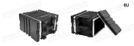 Фото5 BC-.UBL Профессиональный кофр из ударопрочного пластика для рэкового оборудования (крепеж в комплект