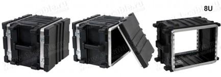 Фото6 BC-.UBL Профессиональный кофр из ударопрочного пластика для рэкового оборудования (крепеж в комплект