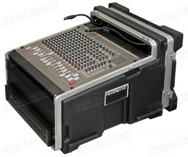 """Фото1 BC-4-11-8U.. Профессиональный кофр 19"""" для микшерного пульта и рэкового оборудования (крепеж в компл"""
